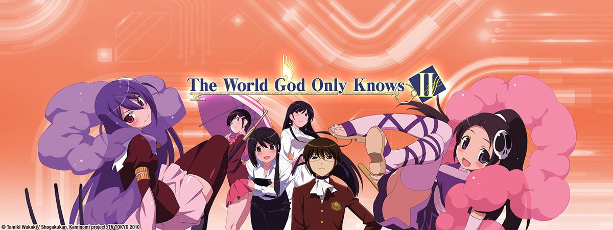 The World God Only Knows II (2011)(TV Series)(Complete)