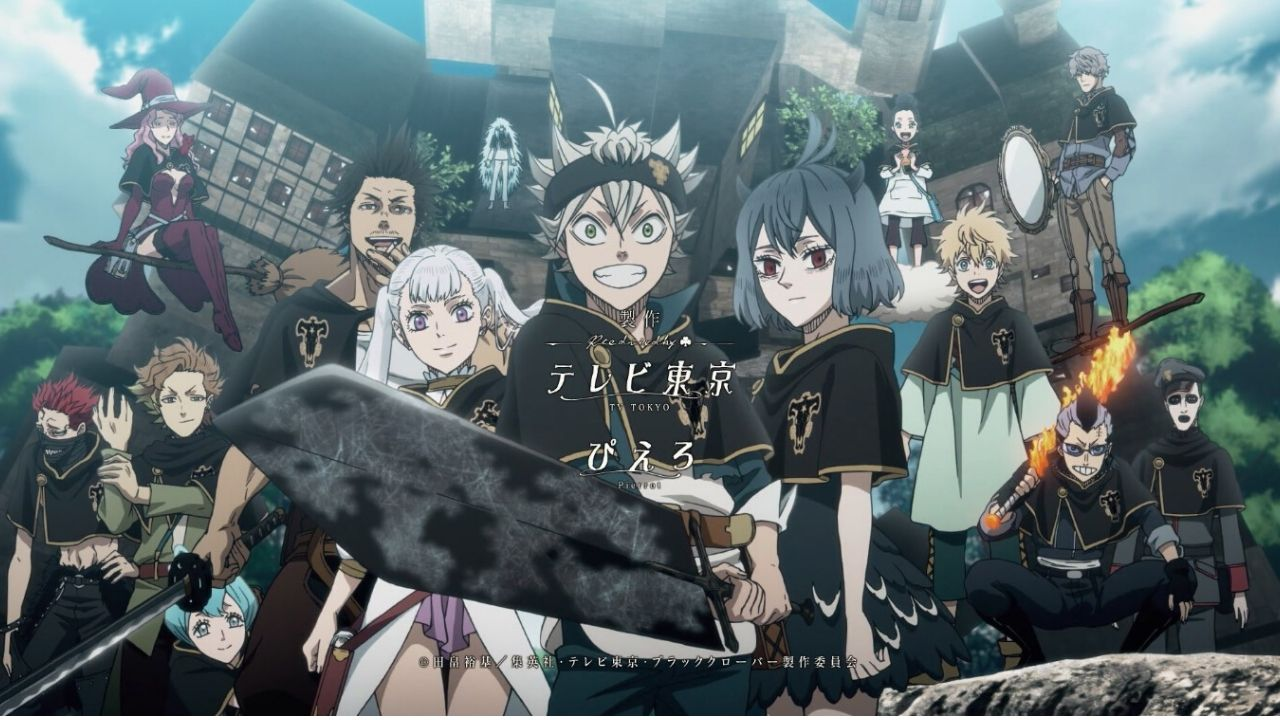 Black Clover (2017)(TV Series)(Ongoing)