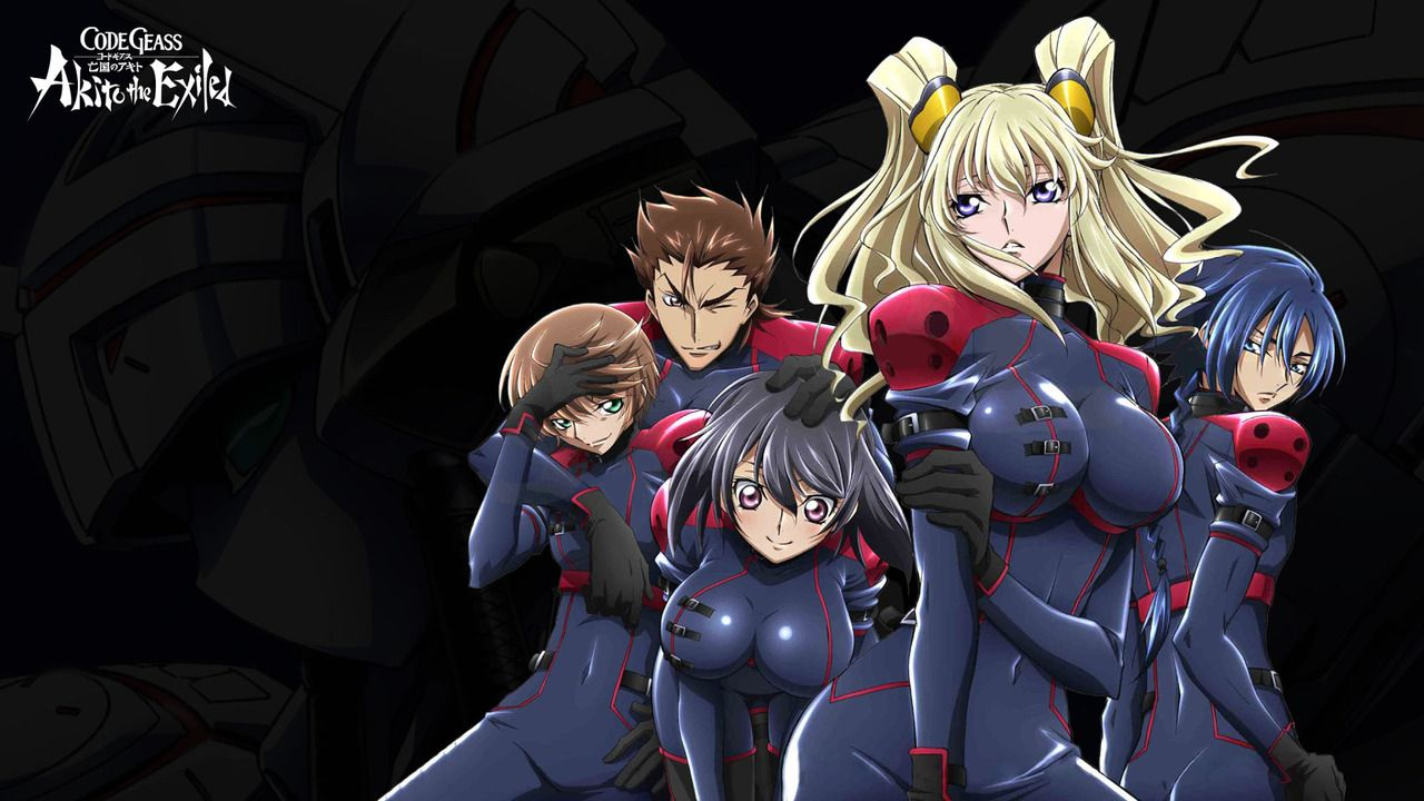 Code Geass: Akito the Exiled (2012)(Movie)(Complete)