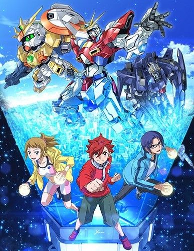 Download Gundam Build Fighters Try (2014)(TV Series)(Complete)