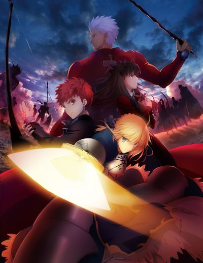 Fate/Stay Night: Unlimited Blade Works (2014)(2014)(TV Series)(Complete)