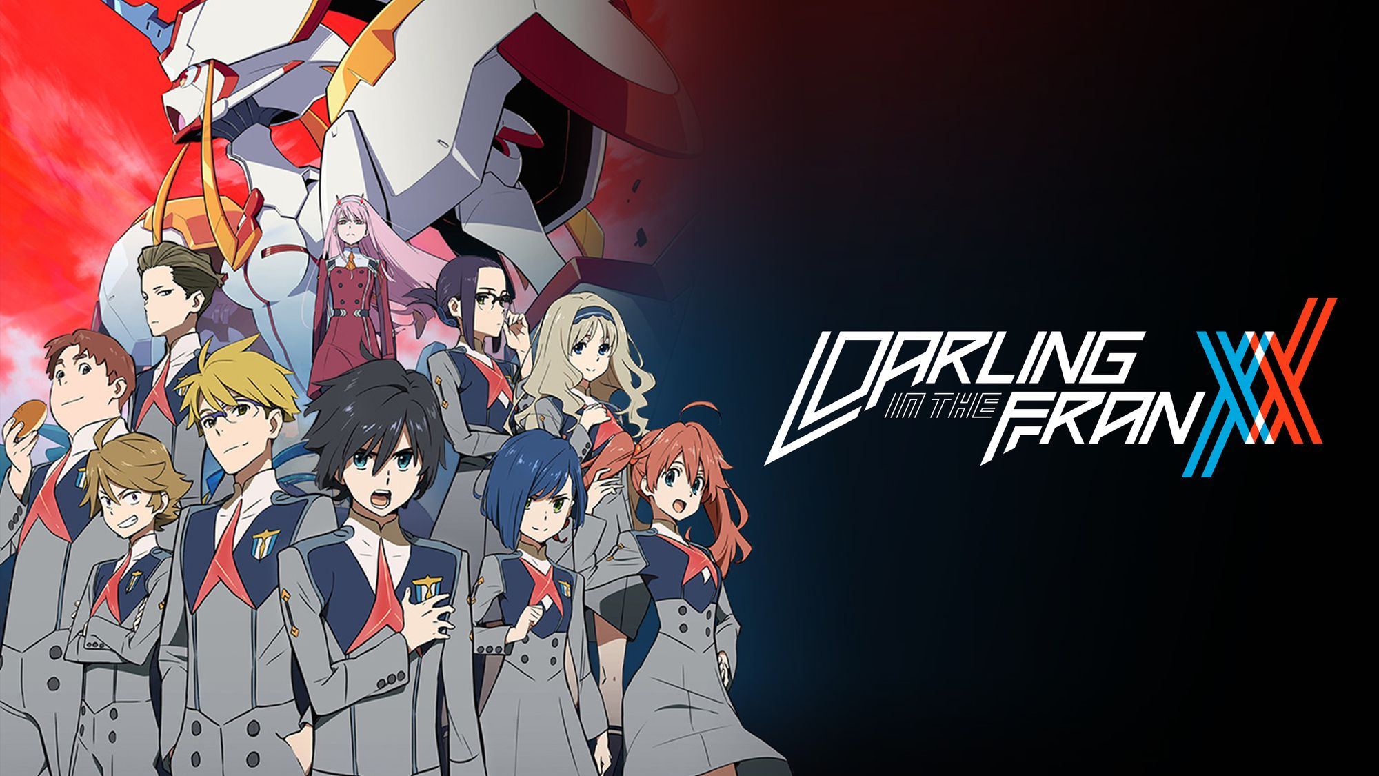 Darling in the Franxx (2018)(TV Series)(Complete)