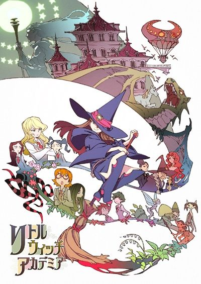 Little Witch Academia (2013)(Movie)(Complete)