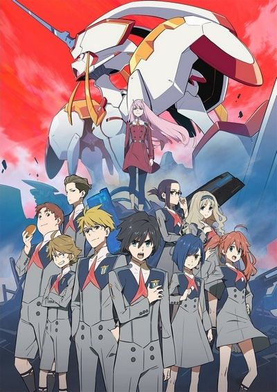 Download Darling in the Franxx (2018)(TV Series)(Complete)