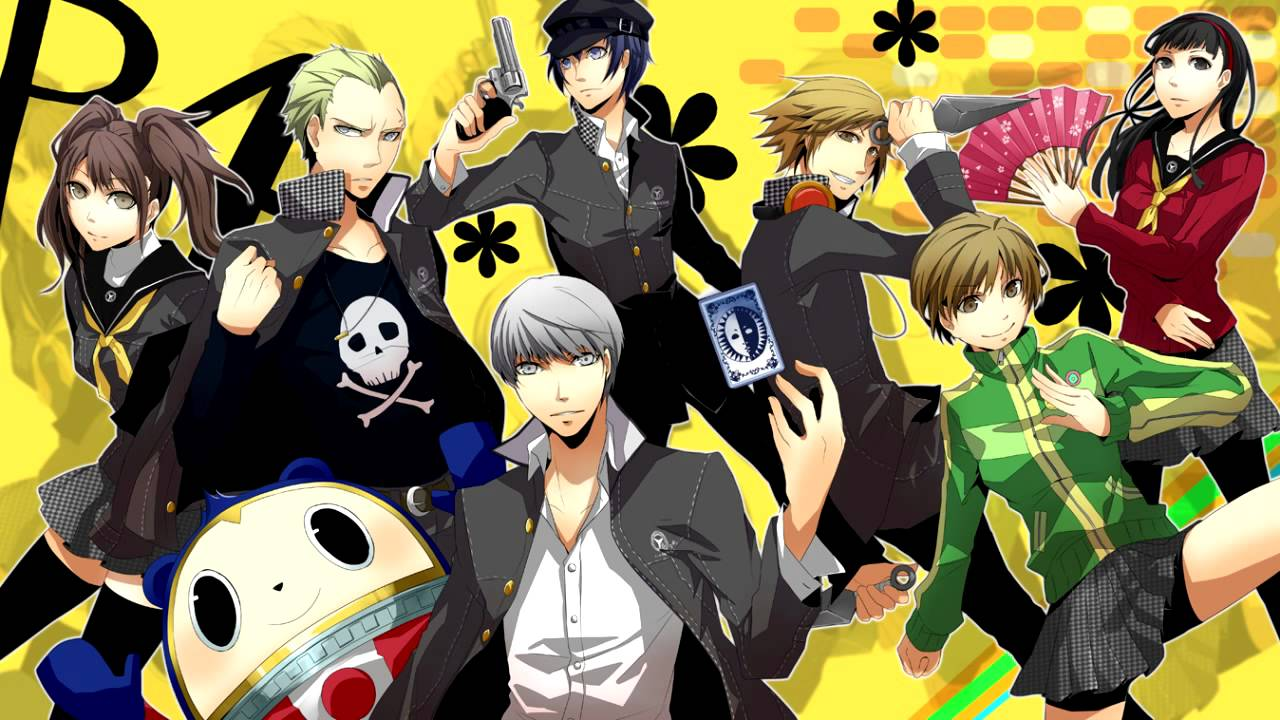 Persona 4 The Animation (2011)(TV Series)(Complete)
