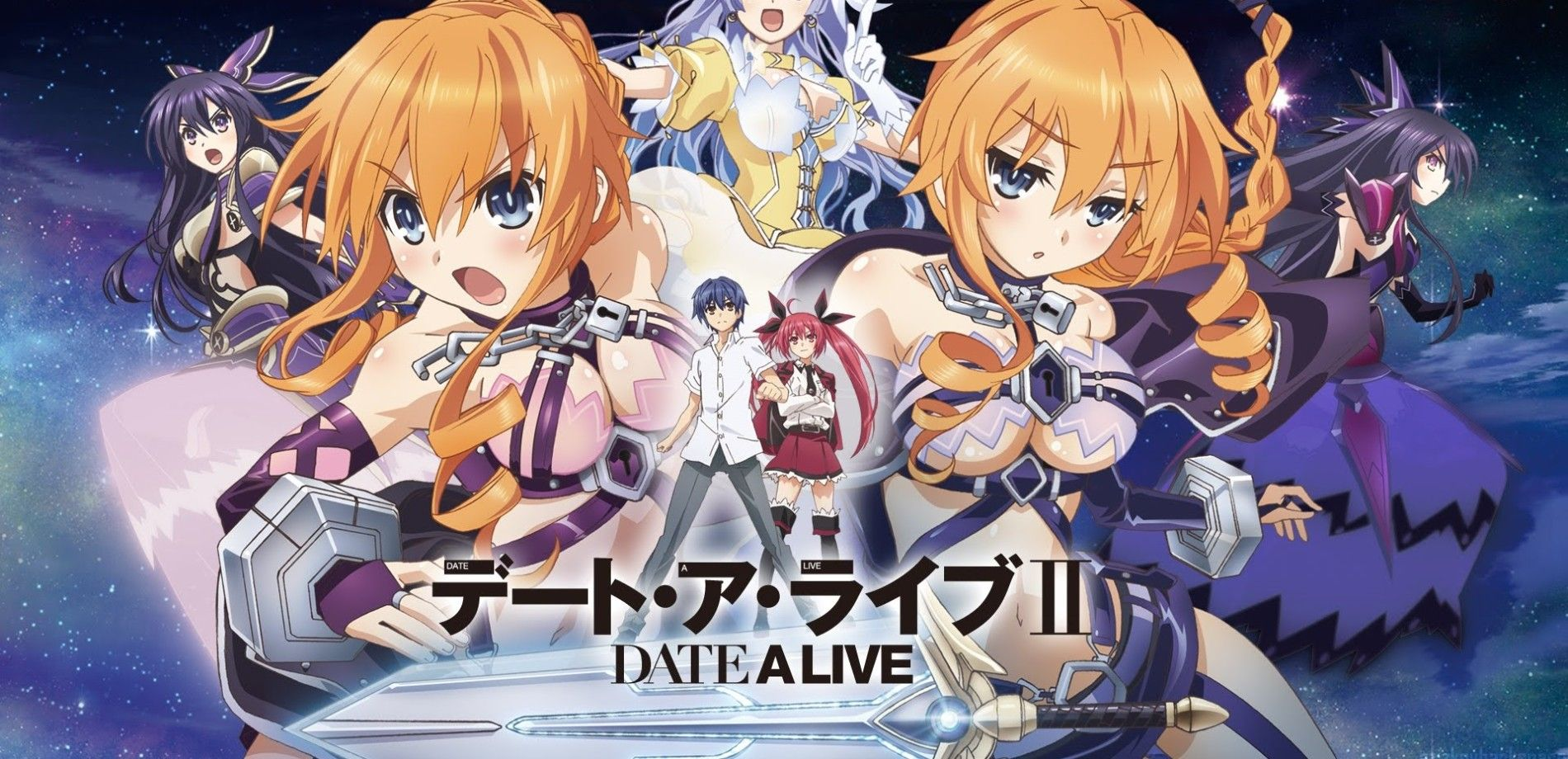Date a Live II (2014)(TV Series)(Complete)
