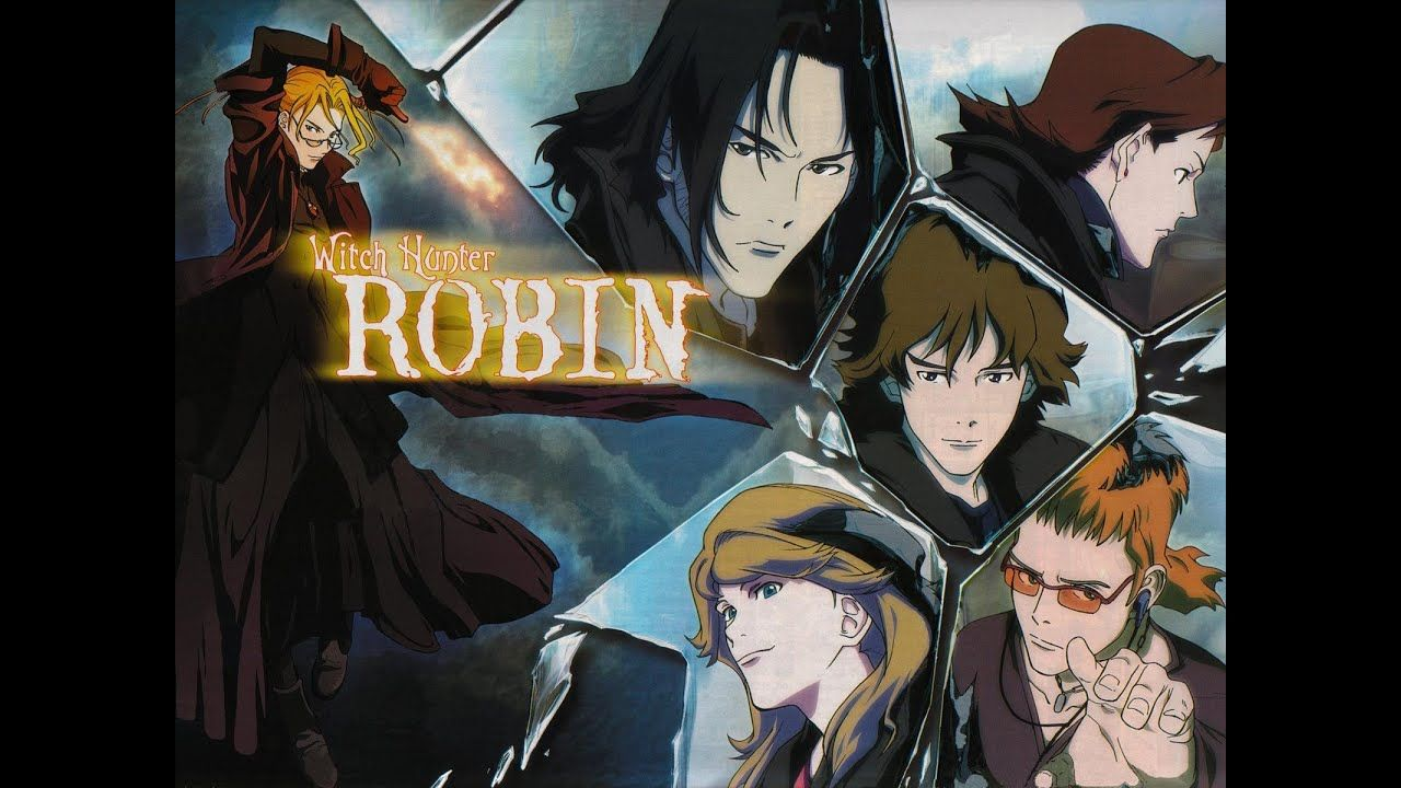Witch Hunter Robin (2002)(TV Series)(Complete)