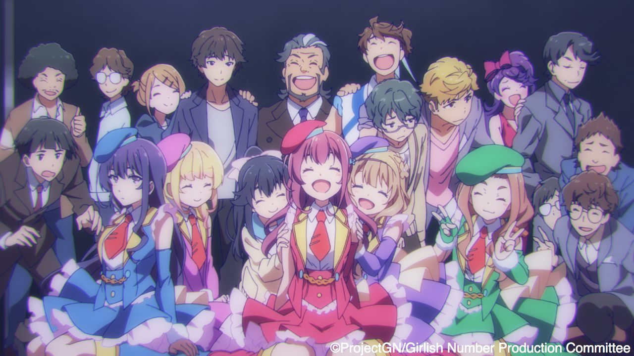 Girlish Number (2016)(TV Series)(Complete)