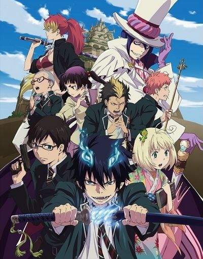 Ao no Exorcist (2011)(TV Series)(Complete)