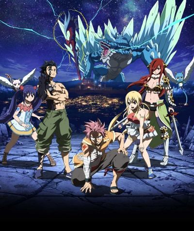 Download Gekijouban Fairy Tail: Dragon Cry (2017)(Movie)(Complete)