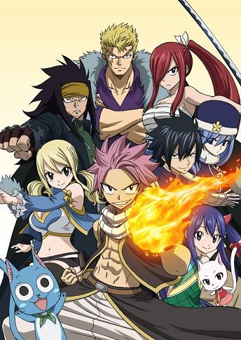 Fairy Tail (2014)(2014)(TV Series)(Complete)