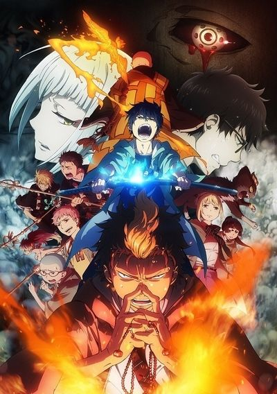 Download Ao no Exorcist: Kyoto Fujouou Hen (2017)(TV Series)(Complete)