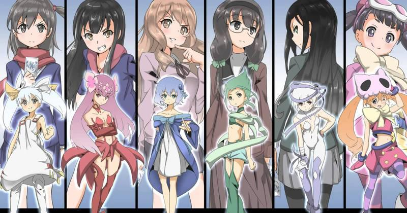 Selector Infected WIXOSS (2014)(TV Series)(Complete)