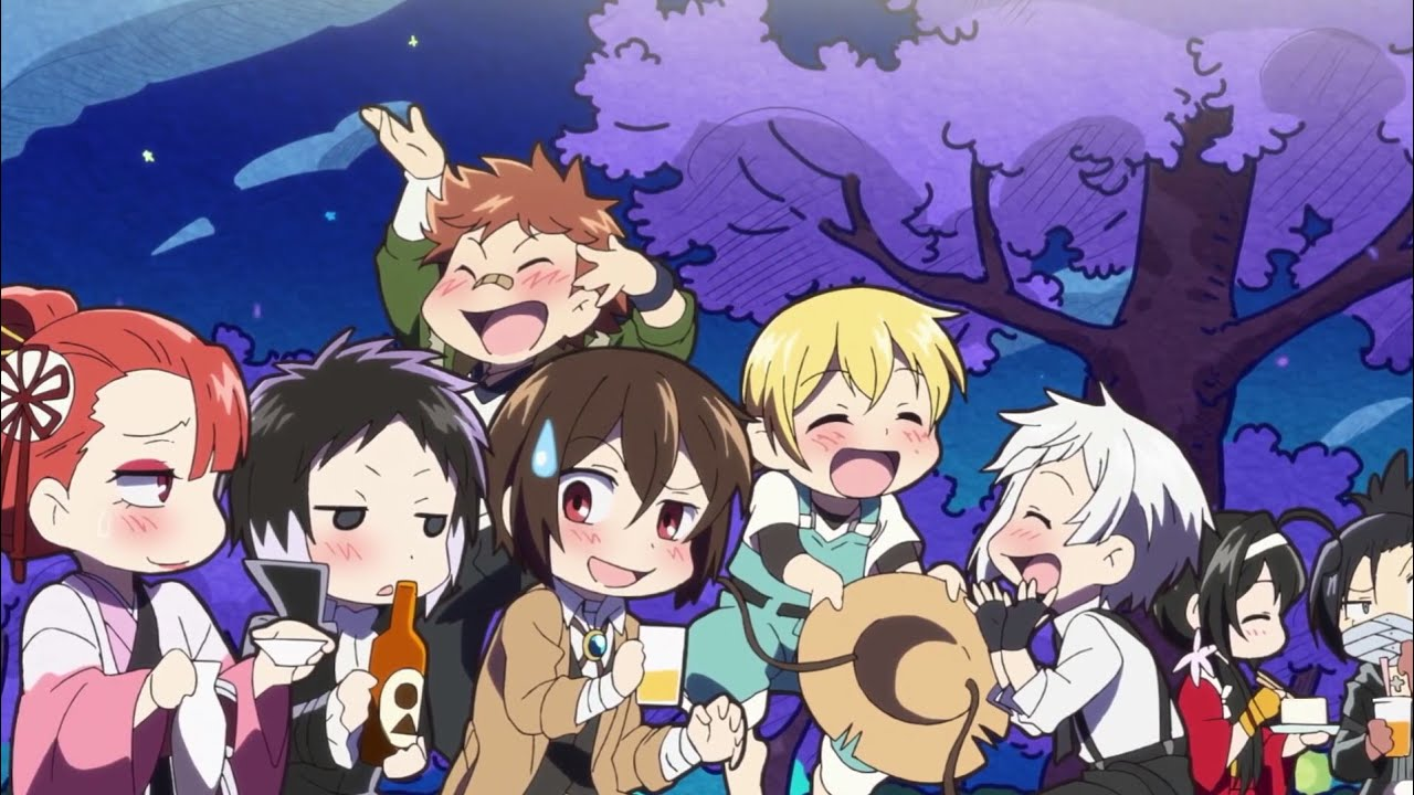 Bungou Stray Dogs Wan! (2021)(TV Series)(Complete)