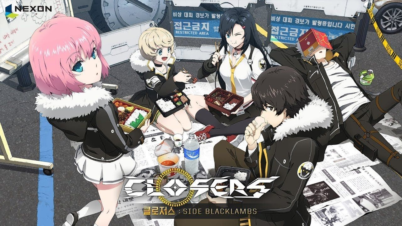 Closers: Side Blacklambs (2016)(Web)(Ongoing)