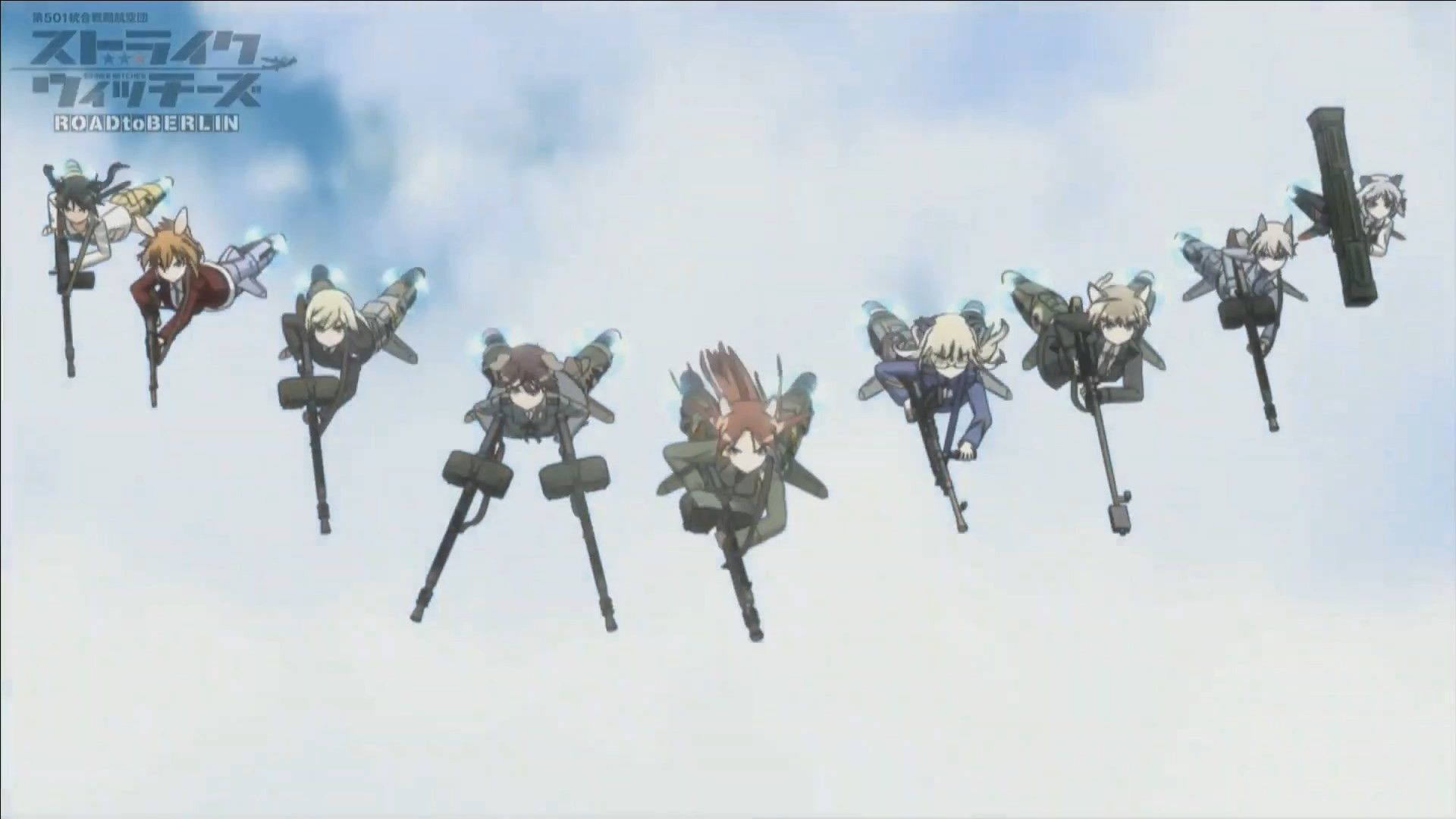 Strike Witches (2008)(2008)(TV Series)(Complete)